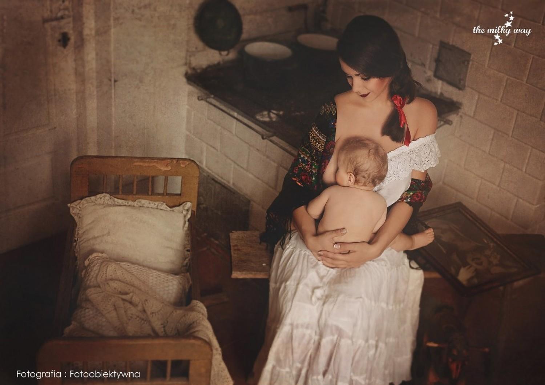 Karmienie piersią na zdjęciach