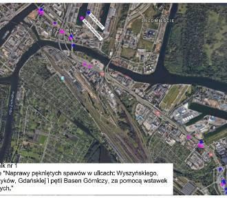 Naprawa pękniętych spawów w torowisku na ulicy Gdańskiej [ZDJĘCIA]