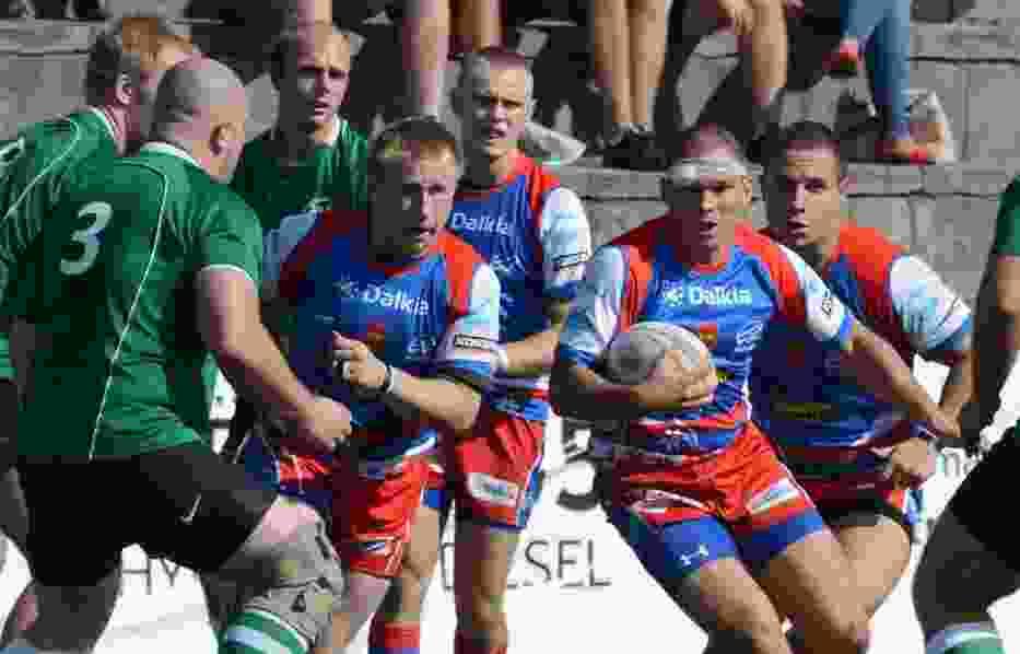 W rugby rozbite głowy to normalka i z tego powodu nikt nie schodzi z boiska