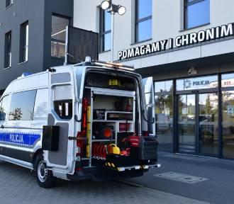 Policja w Kaliszu ma nowy, nietypowy radiowóz. ZOBACZ