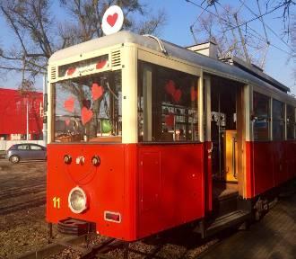Walentynkowy tramwaj w Gdańsku. 14 lutego czerwona N-ka dla zakochanych [ROZKŁAD JAZDY]