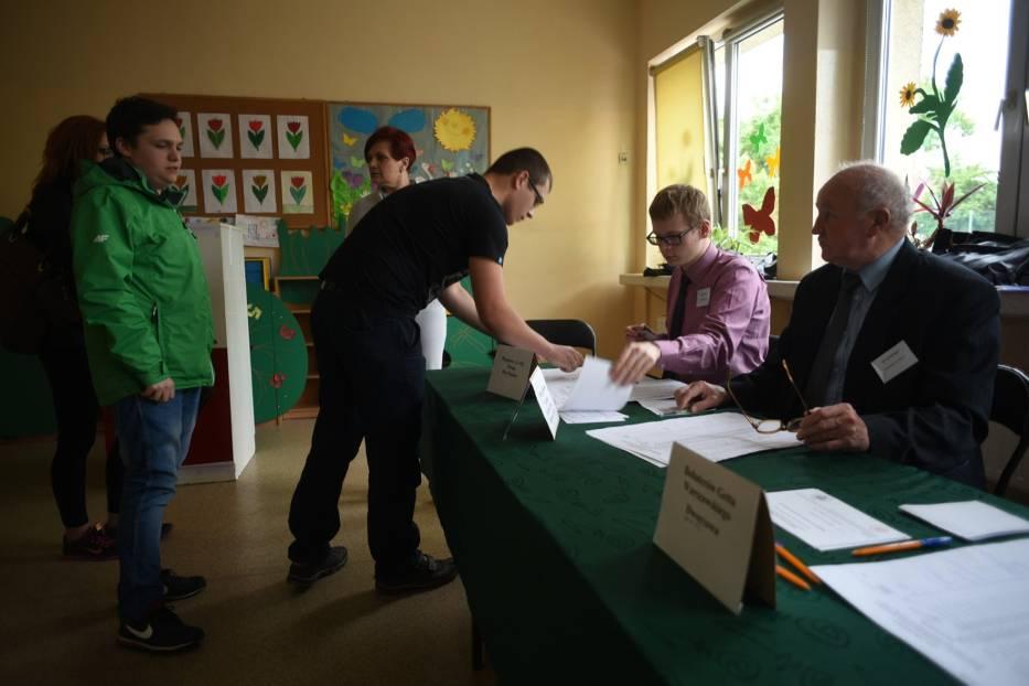 Tak głosowali mieszkańcy śląskiego [zdjęcia]