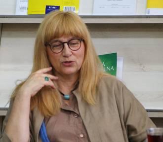 Spotkanie z Moniką Sznajderman [zdjęcia]