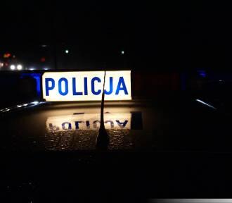 Pijany szofer rozwalił płot policjantowi