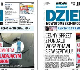 We wtorek nowy numer Dnia Nowotomysko-Grodziskiego w kioskach