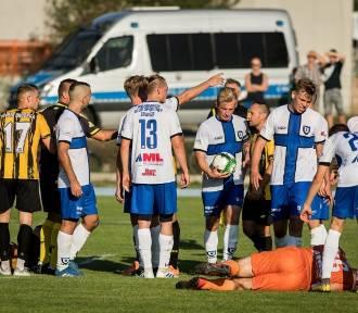 Zaległe derby Bydgoszczy Chemik - Zawisza. III runda Pucharu Polski KPZPN. Wyniki piłkarskiej
