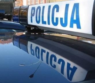 Działoszyn. Kierowca mercedesa uciekał przed policją. Był poszukiwany