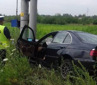 Policjanci po pościgu zatrzymali kierowcę BMW, który był pod wpływem środków odurzających [FOTO]