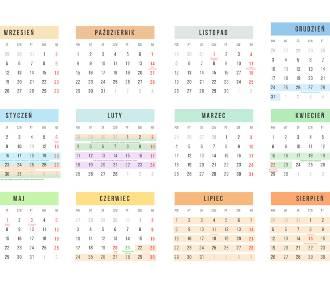Kalendarz roku szkolnego 2018/2019 POBIERZ ONLINE