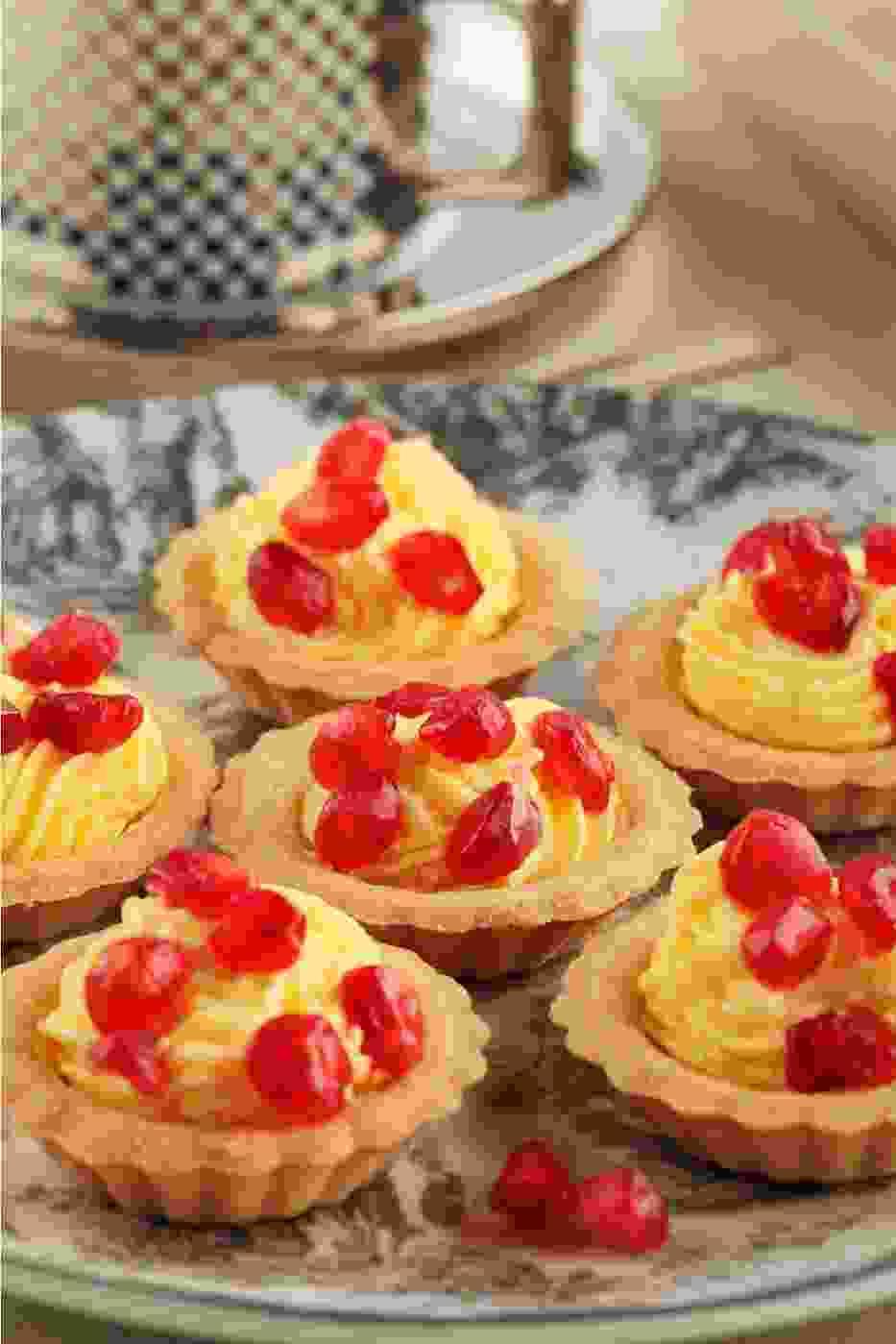 Przepis na rześką babeczkę z pastą miętowo-cytrynową