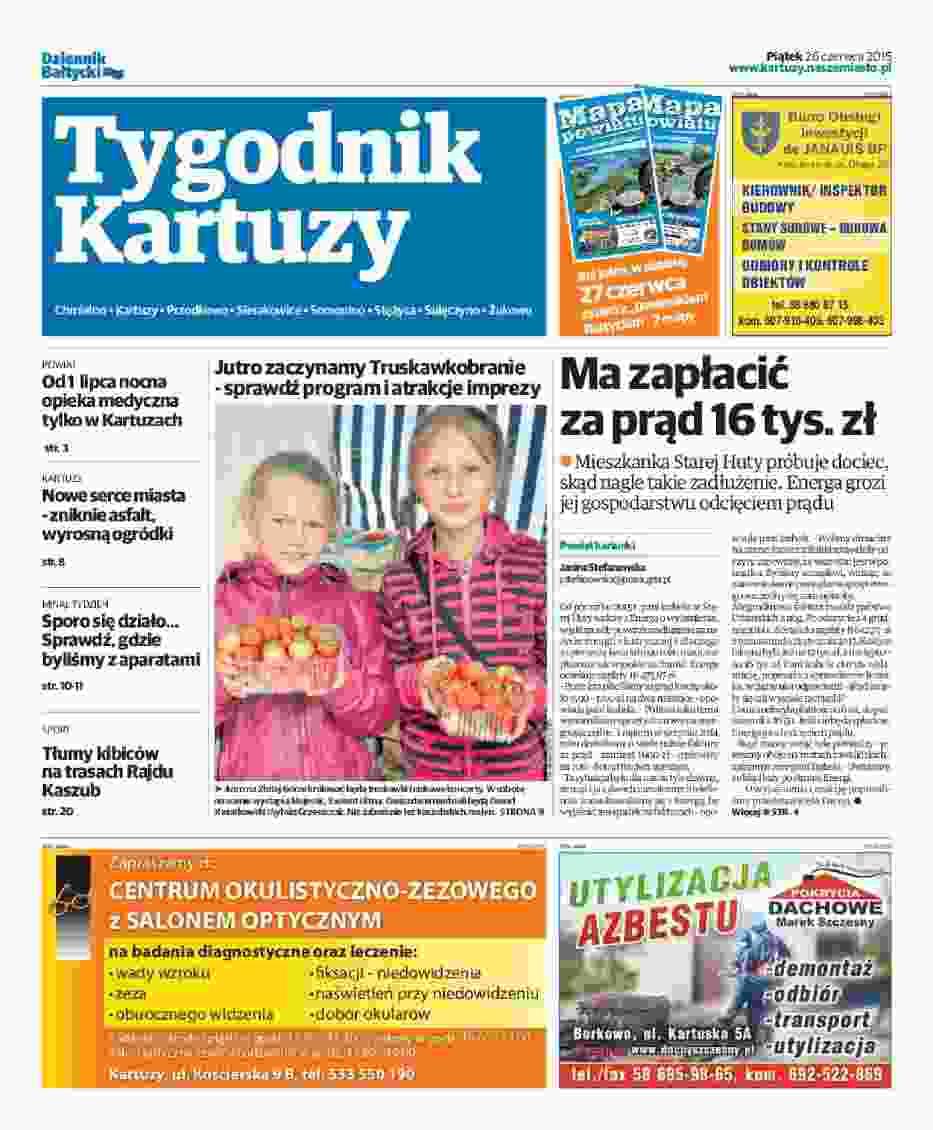 Tygdnik Kartuzy 26-06-2015