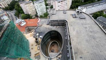 Budowa Hanza Tower w Szczecinie. Najnowsze ZDJĘCIA z placu budowy!