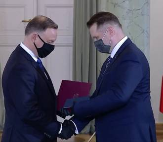 Przemysław Czarnek zaprzysiężony na ministra edukacji i szkolnictwa wyższego