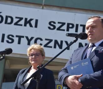 """Zastrzyk gotówki dla szpitala. Marszałek """"przywiózł"""" 15 mln zł"""