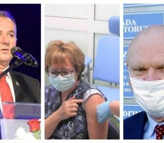 Te znane osoby z regionu zaszczepią się przeciw koronawirusowi [zdjęcia]