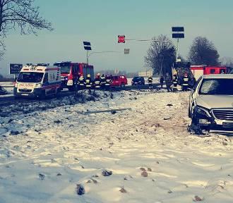 Radomski przedsiębiorca i jego prawniczka ranni w wypadku