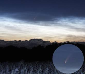 Kometa nad Zalewem Wiślanym. Będzie ją jeszcze widać