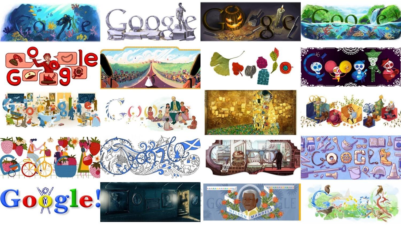 Google Doodle to małe, zazwyczaj kolorowe obrazki, które pojawiają się od czasu do czasu w miejscu wyszukiwarki Google