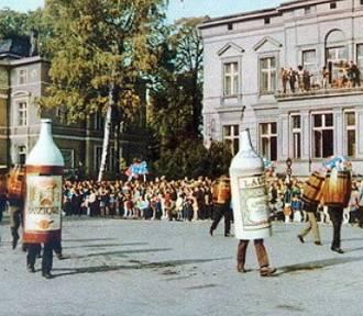 Urok zielonogórskich korowodów, tym razem w latach 60.