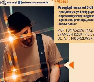 Rusza letnia scena muzyczna w Tomaszowie Maz. MCK czeka na zgłoszenia!