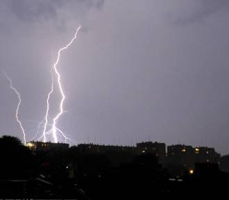 Ostrzeżenie: W nocy intensywne opady i wiatr!