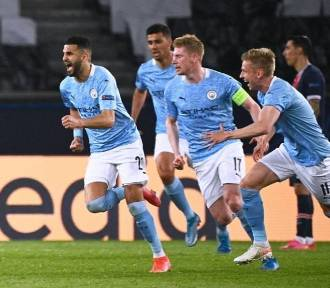 Manchester City - PSG. City w finale Ligi Mistrzów