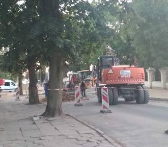 Postęp prac rewitalizacji starego miasta w Pniewach