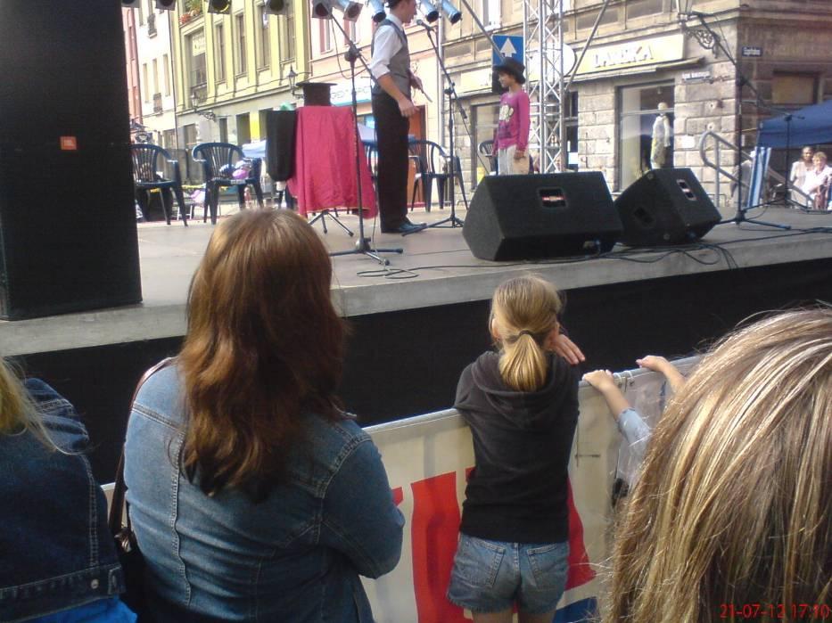 2012-07-21, sobota . Święto Ulicy Św. Jakuba w Toruniu..