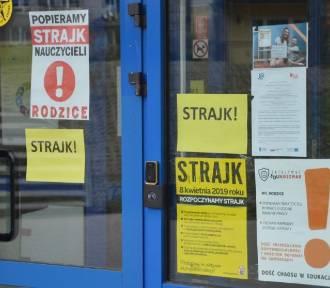Strajk nauczycieli 2019: powiat wejherowski. Zdecydowana większość uczniów pozostała w domach