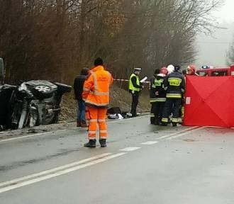 Na drodze krajowej nr 7 zginęły dwie osoby! [zdjęcia]