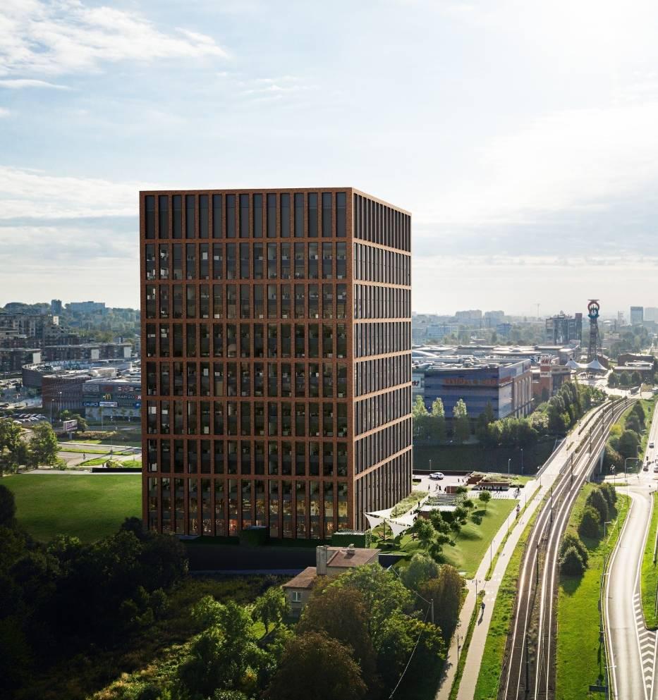 Pierwszy biurowiec Silesia 4 Business ma być gotowy pod koniec 2021 roku