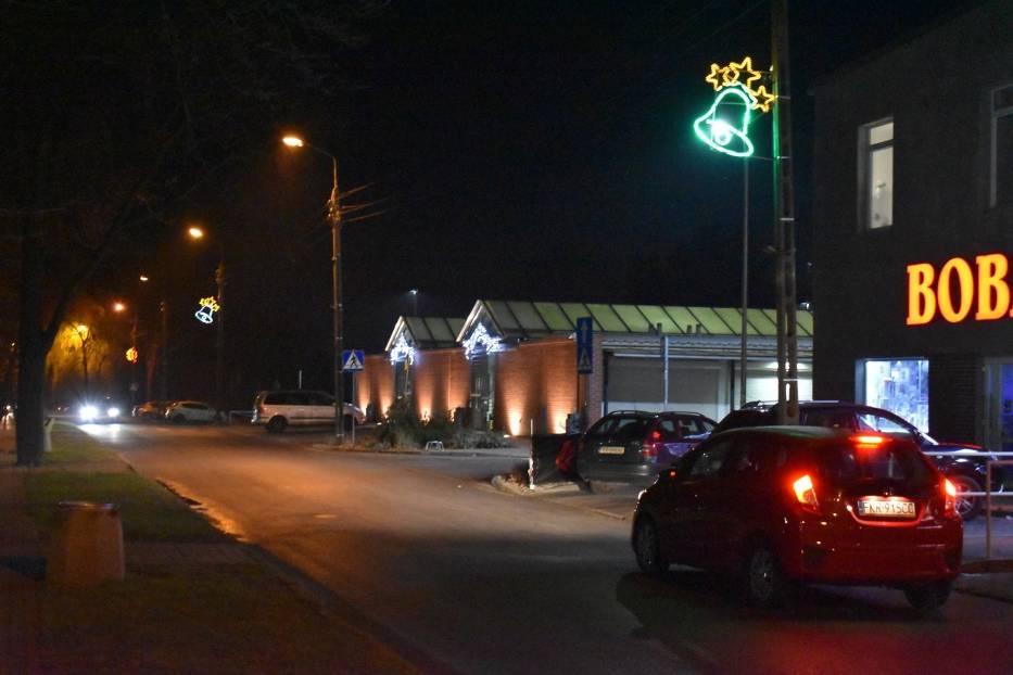 Świąteczne iluminacje w Krośnie Odrzańskim. Tak wyglądały rok temu. W tym okresie świątecznym ozdoby będą podobne?