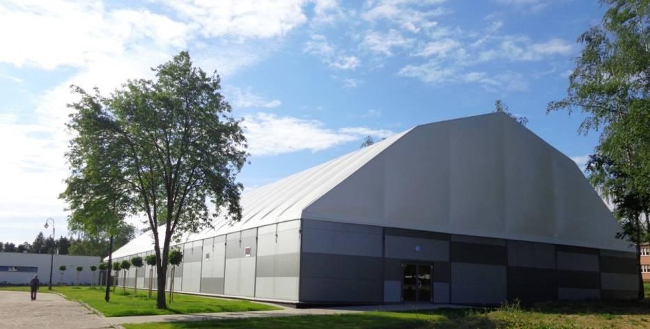 Nowa hala sportowa PWSZ w Kaliszu