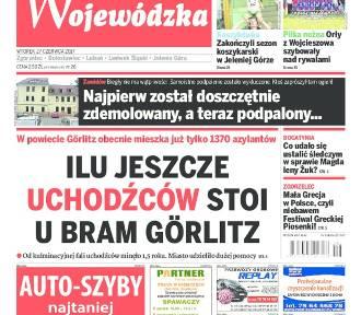 Dziś wtorek! Najnowsza Gazeta Wojewódzka jak co tydzień w kioskach