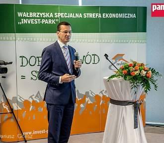 Wałbrzych: Toyota w obecności premiera Mateusza Morawieckiego ogłasza nową inwestycję
