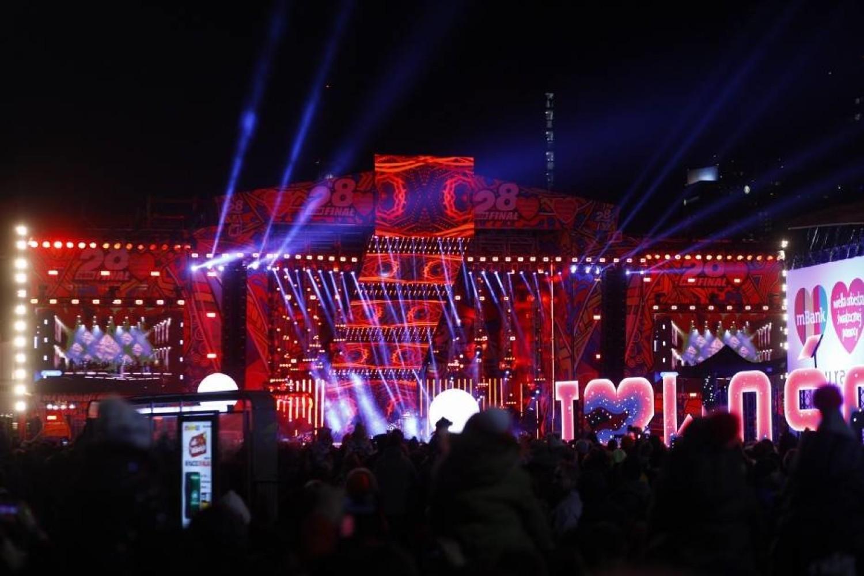 WOŚP 2020 Światełko do nieba w Warszawie