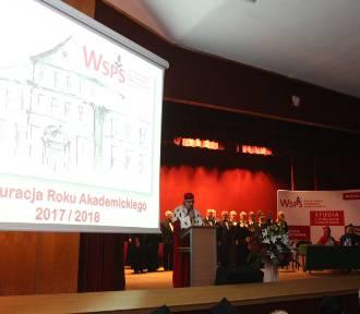 Studenci WSPS w Dąbrowie Górniczej rozpoczęli kolejny rok akademicki