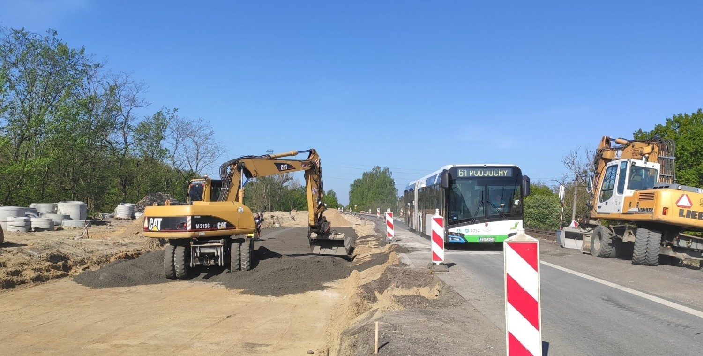 Węzeł Granitowa w Szczecinie - budowa