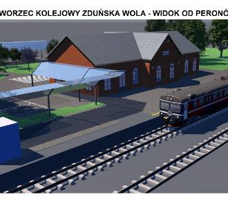 Kolejowy dworzec w Zduńskiej Woli w nowej odsłonie [zdjęcia]
