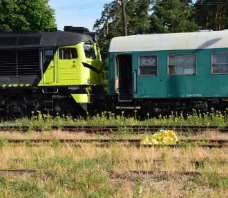Zwłoki mężczyzny na stacji kolejowej w Suwałkach