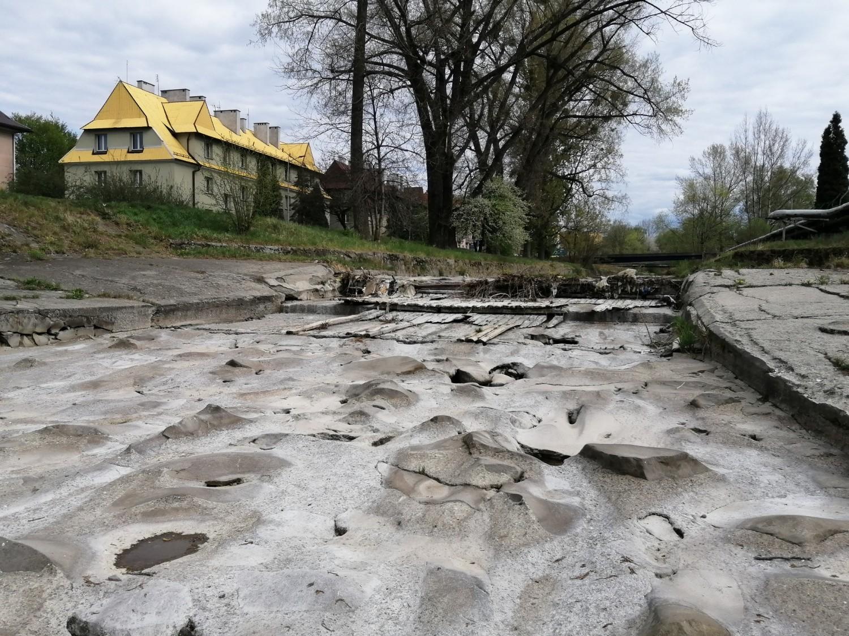 Wieprzówka w Andrychowie 26 kwietnia 2020 r