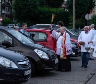 Święcenie pojazdów na św. Krzysztofa w Gdańsku