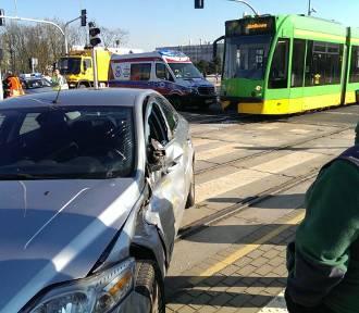 Zderzenie z tramwajem na Grunwaldzkiej. Wstrzymany ruch [AKTUALIZACJA]