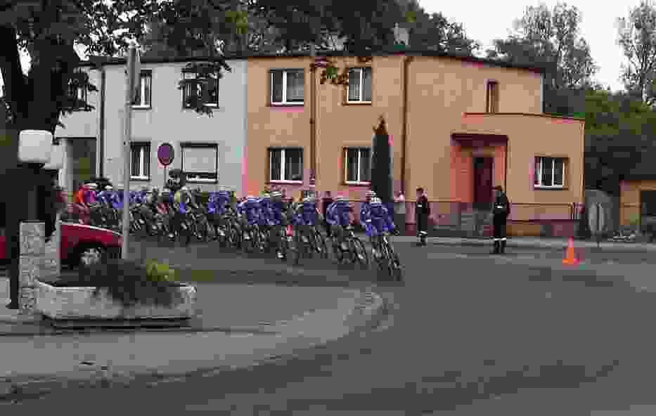 XXI Międzynarodowy Wyścig Kolarski Bałtyk - Karkonosze Tour Zbąszyń 2013 r