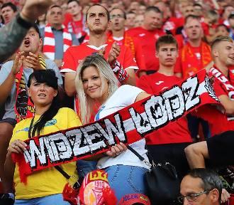 Niesamowici fani Widzewa na meczu z Błękitnymi (ZDJĘCIA)