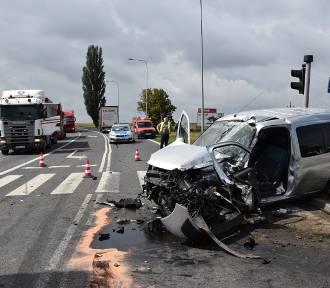 Groźny wypadek na DK 5 [FOTO]