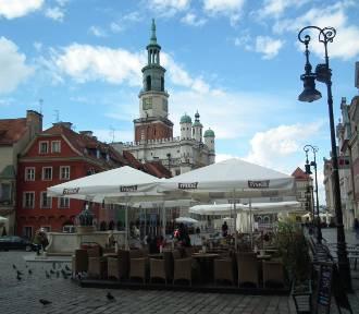 Coraz więcej ogródków letnich w Poznaniu