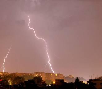 Ostrzeżenie IMGW przed burzami i silnym deszczem w Małopolsce