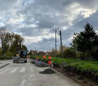 Nowy Dwór Gdański: rozpoczął się remont ulicy Bałtyckiej