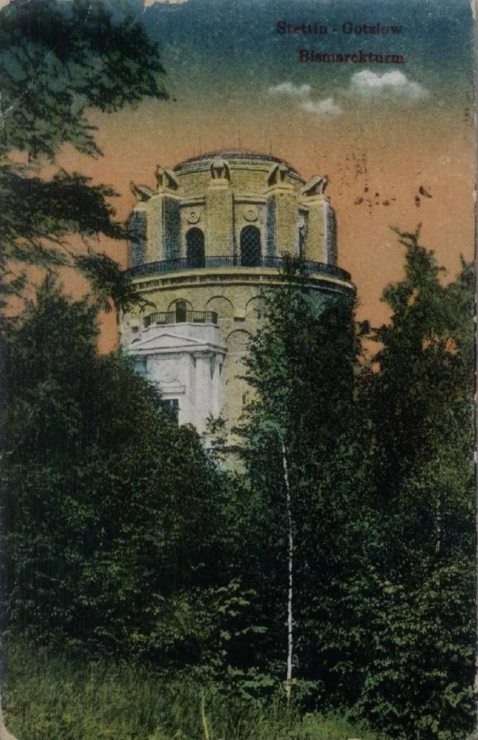 - Można powiedzieć, że była to jedna z większych wież poświęconych Żelaznemu Kanclerzowi - mówi dr Marek Łuczak, historyk, badacz dziejów Szczecina